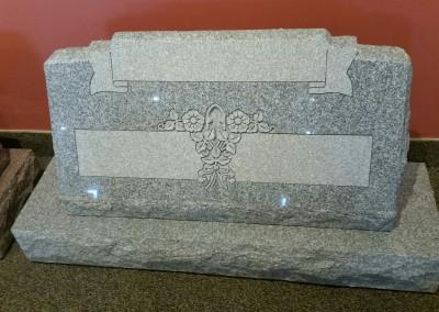 SLANT STYLE MONUMENT